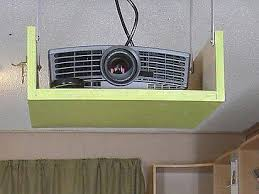 Retractable Projector Ceiling Mount by Diy Projector Mount Enclosed House Pinterest Projectors