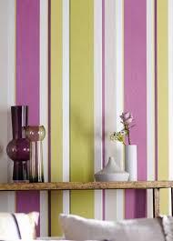 Striped Wallpaper Bathroom Vertical Stripes In Modern Interior Design 25 Room Decorating Ideas