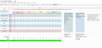 Candidate Tracking Spreadsheet Goal Tracking Template Virtren Com