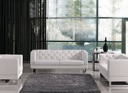 ultra modern 3pc living room set leather paris white ultra modern 3pc living room set leather paris white bernathsandor