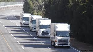 volvo truck parts sweden bbc future robot truck platoons roll forward