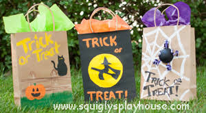 craft halloween treat bags