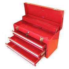 tool box excel 3 drawer locking tool box walmart com