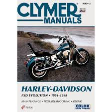 amazon com clymer harley davidson fxd evolution 1991 1998