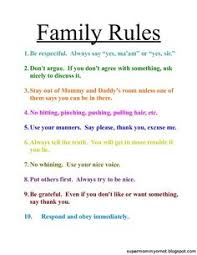 Family House Rules Pretty Much Sums Up The Rules In Our Household Except Making The