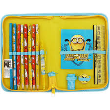 Minion Desk Accessories by Despicable Me Minions Filled Pencil Case Kids Stationery At The