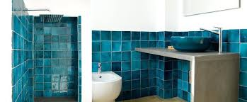terracotta coloured bathroom accessories indoor tile floor