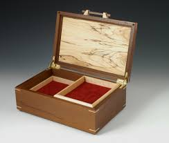 jewelry box photo frame peruvian walnut jewelry box with spalted maple lid wood n it be