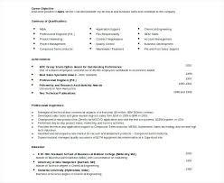 Sample Resume Templates Free Download Sample Resume Format Doc Download Resume Templates Doc Docs Resume