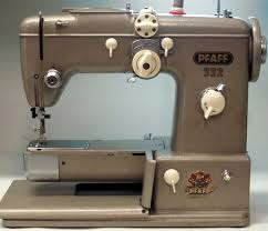 mi vintage sewing machines pfaff 332 1957