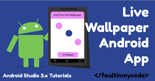 android studio 1 5 tutorial for beginners pdf android live wallpaper tutorial using android studio 3 x