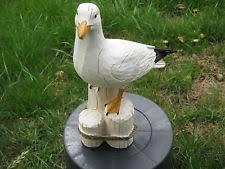plastic resin seagull garden ornaments ebay