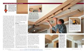 Fine Homebuilding How To Design And Build A Box Beam Or Coffered Ceiling