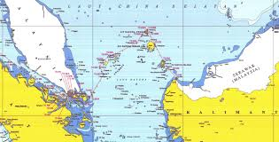 South China Sea Map Geogarage Blog Asserting Sovereignty Indonesia Renames Part Of
