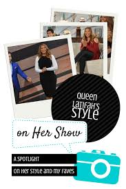 a spotlight on queen latifah u0027s style on her show