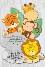 free safari baby shower invitations search baby shower