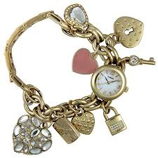 bracelet watches fossil images Fossil women 39 s es1740 stainless steel charm bracelet watch fossil jpg