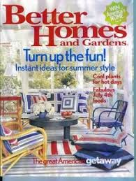 Better Homes And Gardens Summer - the strikingly bold gemini quilt cover set appears on page 7 in