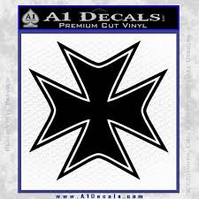 iron cross decal celtic sticker d5 a1 decals