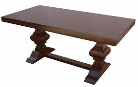Colonial Dining Room Spanish Colonial Trestle Dining Table U2013 Mortise U0026 Tenon