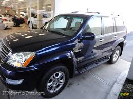 lexus metallic 2009 lexus gx 470 in nautical blue metallic 172990