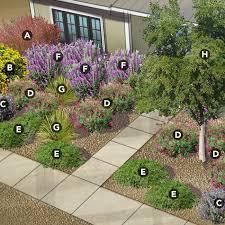 Shrub Garden Ideas Low Care Shrub Garden 4 Regional Plans