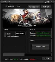 legion of heroes apk legion of heroes hack tool and hack tool for android