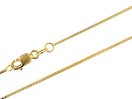 gold necklace box images K gold box chain necklace images for gold box chain necklace jpg