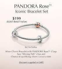 pandora bracelet gift images Pandora rose iconic bracelet set pandora jewelry us jpg