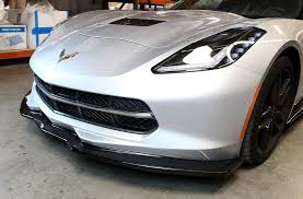 c7 corvette aftermarket 2014 2018 c7 corvette stingray apr carbon fiber front air dam