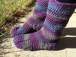 womens slipper boots size 9 516 best slippers and socks free crochet images on