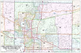 Assembly Row Map Oklahoma County U2013 House Districts Metro Area Map U2013 Okg News