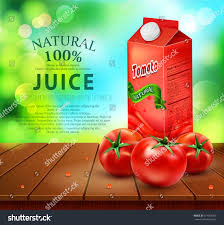 Wooden Table Background Vector Vector Pack Tomato Juice Tomato Standing Stock Vector 614813069