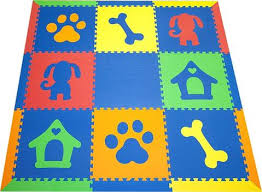 Childrens Play Rug by Animal Play Mat Floor Mats For Kids Softtiles