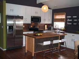 kitchen islands with breakfast bar butcher block breakfast bar kitchen normabudden com