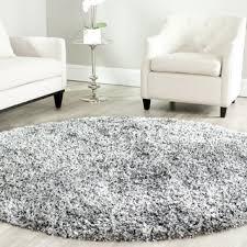 Silver Grey Rug Safavieh Handmade Malibu Shag Silver Polyester Rug 7 U0027 Round By