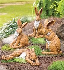 rabbit garden sculpture garden sculptures