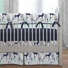 Baby Crib Bed Skirt Baby Boy Bedding Boy Crib Bedding Sets Carousel Designs