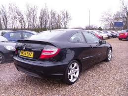 used mercedes c class for sale in uk used mercedes 2006 model class c180k sport auto petrol coupe