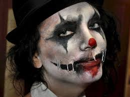 25 Best Evil Clown Costume Ideas On Pinterest Evil Clown Makeup by Evul Clown 25 Exceptional Scary Clown Pictures Arlequin