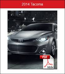 2014 toyota highlander brochure 2014 toyota model brochures