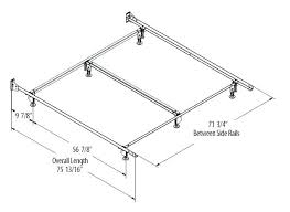 Measurements Of King Size Bed Frame King Bed Frame Dimensions Thepoultrykeeper Club
