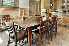 unique and excellent rustic kitchens ideas wood floors and rustic