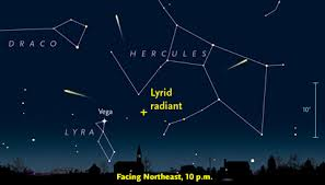 lyrid meteor shower lyrids to put on a weekend light show sky telescope