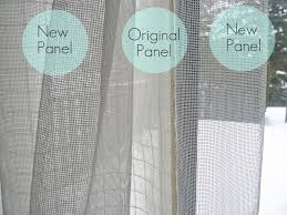 How To Make Curtains Longer Diy