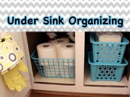 dollar tree organizing under the sink spring 2015 youtube