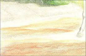 how to draw realistic dirt ground u0026 soil with colored pencil