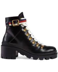 womens gucci boots sale gucci shoes heels wedges boots sneakers lyst