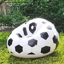 simple inflatable sofa chair couch bean bag basketball football