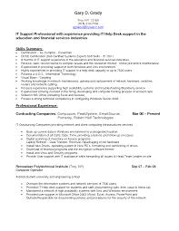 It Desktop Support Resume Supply Technician Resume Resume For Your Job Application